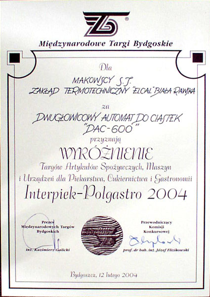 Interpiek - Polgastro 2004